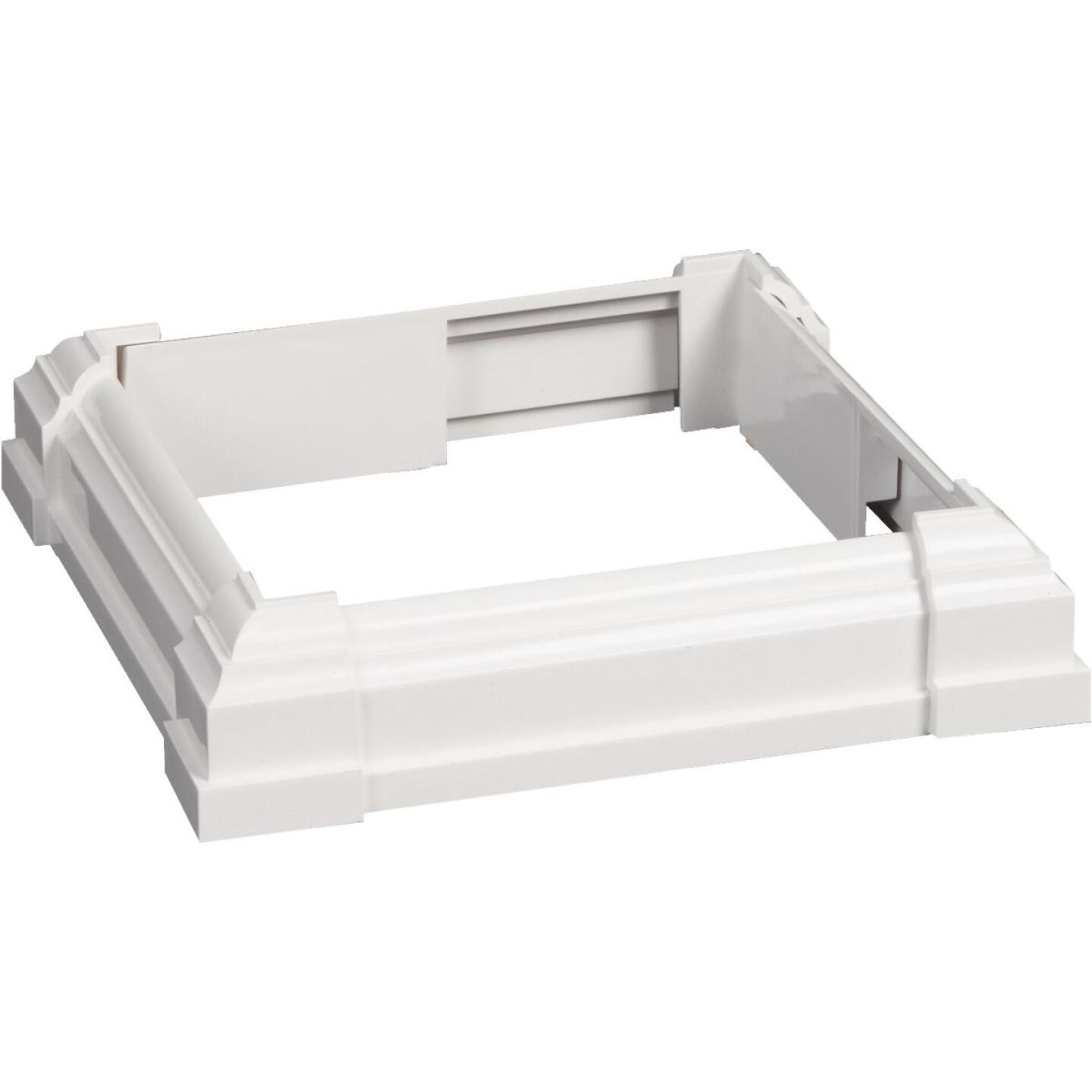 Beechdale 6 In. Vinyl/PVC Post Trim Collar Image 1