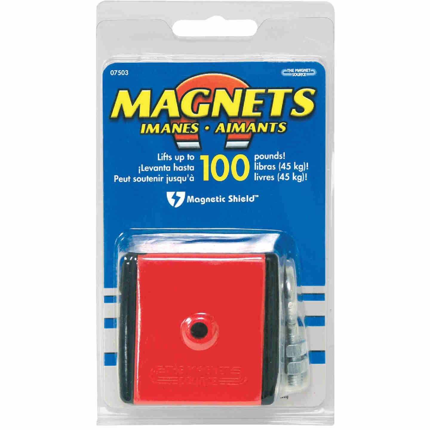 Master Magnetics 100 Lb. Holding, Retrieving and Lifting Magnet Image 2