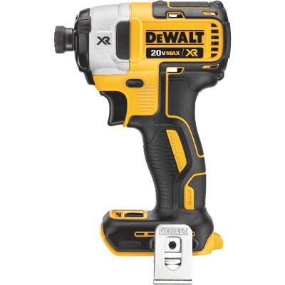 DeWalt 20 Volt MAX XR Lithium-Ion Brushless 1/4 In. Hex Cordless Impact Driver (Bare Tool)