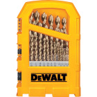 DeWalt 29-Piece Gold Ferrous Pilot Point Drill Bit Set, 1/16 In. thru 9/32 In. Image 1