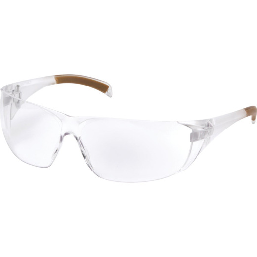 Carhartt Billings Clear Temple Safety Glasses with Clear Lenses