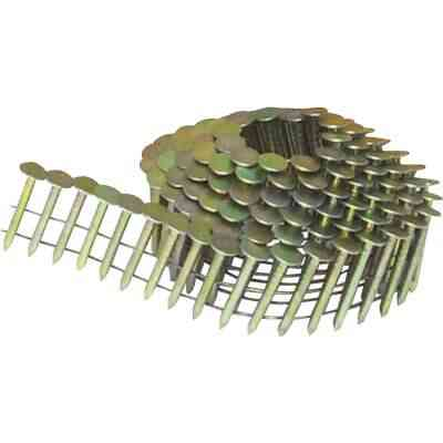 Bostitch 15 Degree Wire Weld Galvanized Coil Roofing Nail, 1-1/2 In. x .120 In. (7200 Ct.)