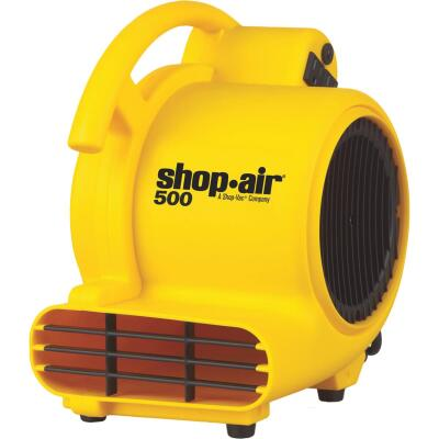 Shop Vac Shop-Air 3-Speed 3-Position 500 CFM Air Mover Blower Fan