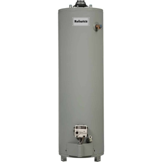 Reliance 40 Gal. Tall 6yr 40,000 BTU Ultra Low NOx Natural Gas Water Heater