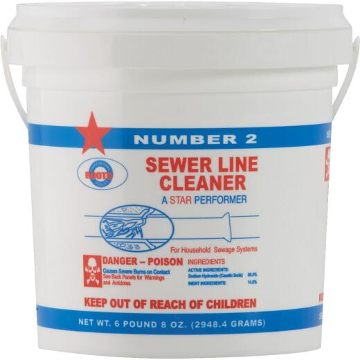Rooto Sodium Hydroxide 6-1/2 Lb. Sewer Line Cleaner