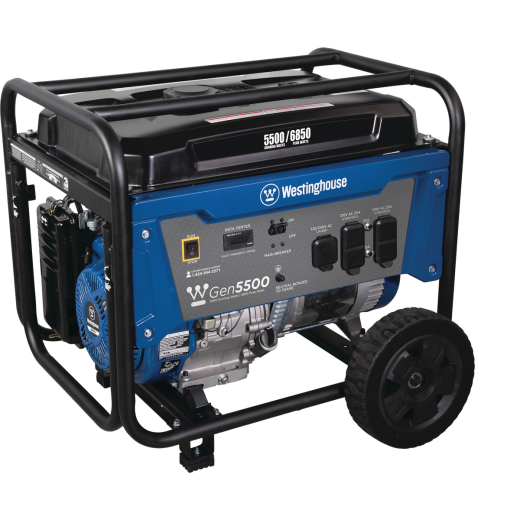 Westinghouse 5500W Gasoline Powered Portable Generator