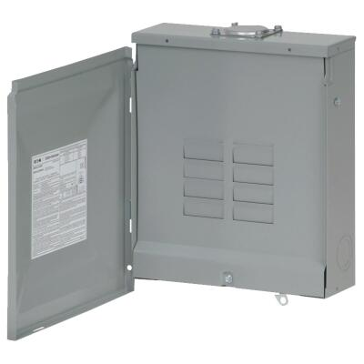 Eaton BR 125A 6-Space 12-Pole Rainproof Main Lug Load Center