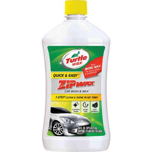 Turtle Wax Zip Wax 16 Oz. Liquid Car Wash & Wax