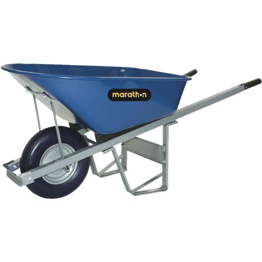 Marathon 6 Cu. Ft. Steel Wheelbarrow