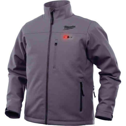 Milwaukee M12 Heated ToughShell 2XL Gray Cordless Jacket Kit