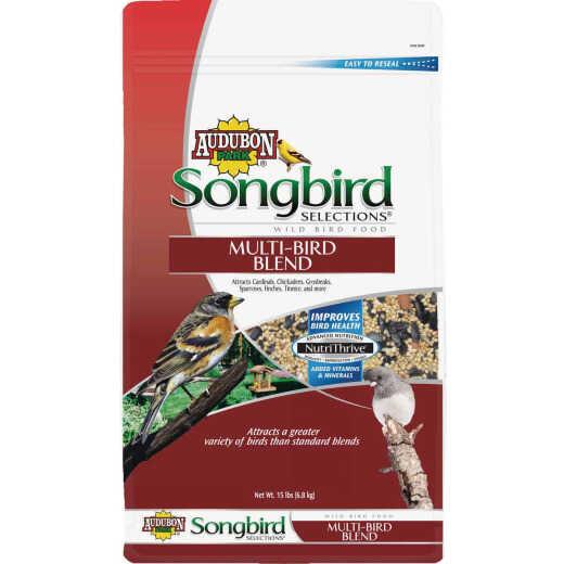 Audubon Park Songbird Selections 15 Lb. Multi-Bird Wild Bird Seed