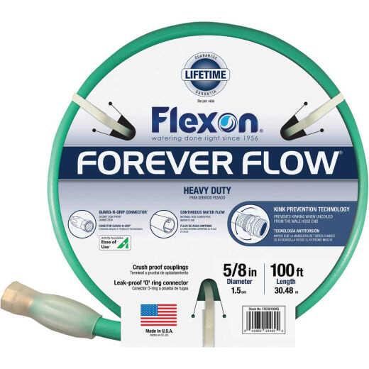 Flexon Forever Flow 5/8 In. Dia. x 100 Ft. L. Heavy-Duty Garden Hose