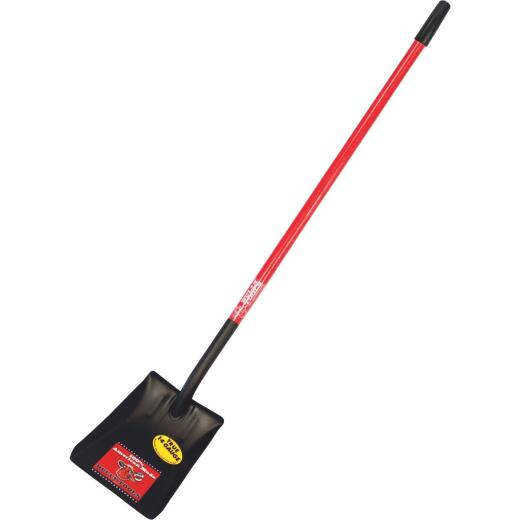 Bully Tools 49 In. Fiberglass Handle Square Point Shovel