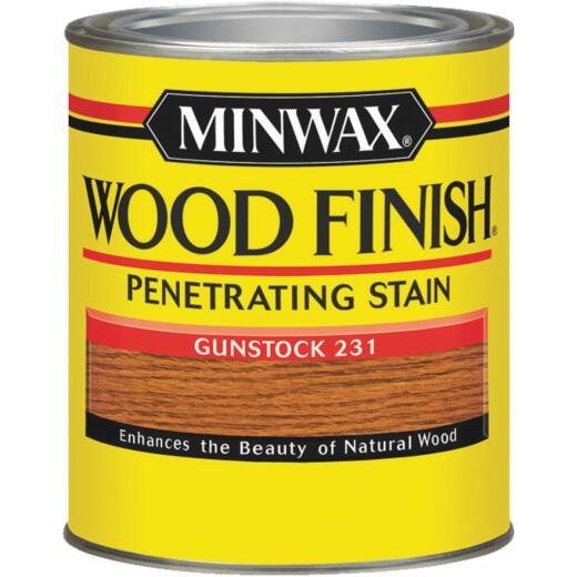 Minwax Wood Finish Penetrating Stain, Gunstock, 1/2 Pt.