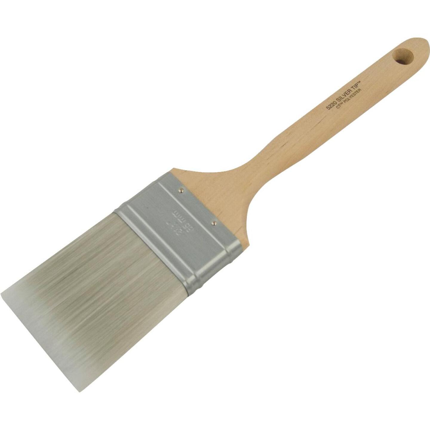 Wooster SILVER TIP 2-1/2 In. Chisel Trim Flat Sash Paint Brush Image 2